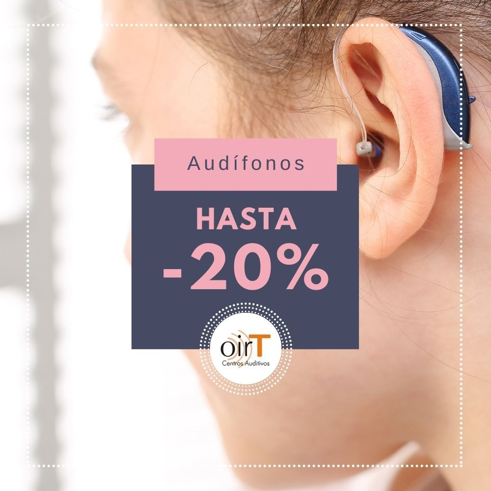 20% descuento Audífonos OIRT El Palo